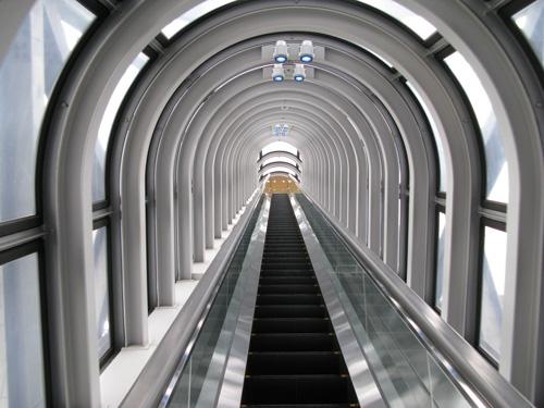 Futuristic Escalator, Osaka