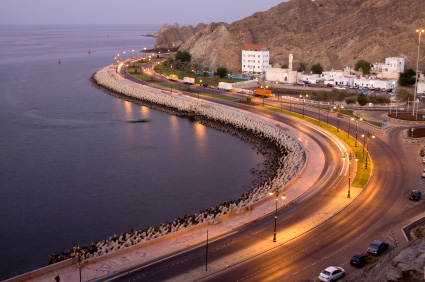 Muttrah at Dusk, Muscat
