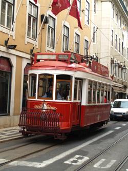 Red Tram, Lisbon