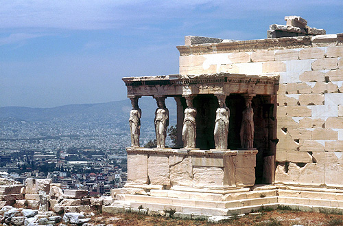 The Erectheum, Acropolis