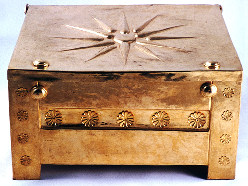 Ancient Greek Gold Larnax, Archaeological Museum of Thessaloniki