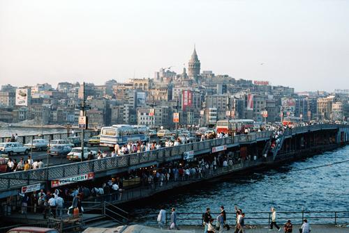 Crowded Street, Istanbul