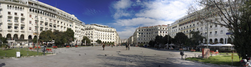City Center of Thessaloniki, Greece
