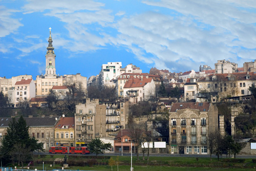 View of Belgrade, Serbia